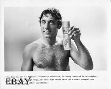 Joe Namath barechested VINTAGE Photo Faberge Organics
