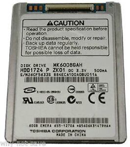 Replacement Hard drive disk for ipod classic 5 5g 5th gen 60GB A1136 MK6008GAH