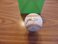 MIKE TROUT CALIFORNIA MINOR LEAGUE AUTOGRAPH BASEBALL,SIGNED WITH #23. JSA CERT.