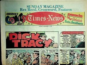 Times-News Sunday Comics December 17 1978 Spider-Man Dick Tracy 021220AME