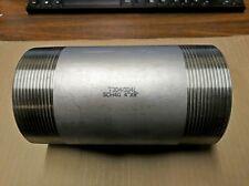 "Stainless Steel Schedule 40 Pipe Nipple 4"" x 8"""