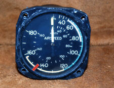 Aviators Aircraft Airspeed Indicator by United States Gauge Co. NY USA Vintage