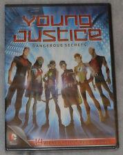 Young Justice: Dangerous Secrets - Season 1 Part 2 - DVD Box Set - NEW & SEALED