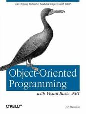 Object-Oriented Programming with Visual Basic .NET by J. P. Hamilton (2002,...