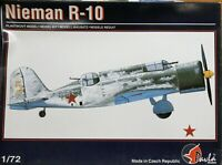Pavla Models 1/72 Nieman R-10 WW2 fighter unmade kit complete sealed bag.