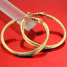 Beauty Yellow Gold Filled Fashion Earrings