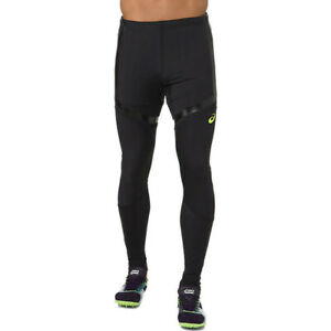 Asics Mens Moving Tights Bottoms Pants Trousers - Black Sports Running