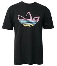 Adidas T-Shirt HOMME Shirt Originals Trefoil Logo T-shirts 3 réparti Thé Neuf Wow