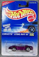 Hot Wheels ~ Corvette Sting Ray Iii ~ Purple