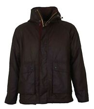 Brand New Men's Barbour Fohn Brown Waxed Coat