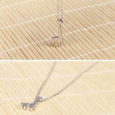 Giraffe Pendant Necklace Fashion Female Clavicle Chain Cartoon Mini Fawn Bambi