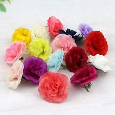 "Wholesale 1.5"" Fake Rose Artificial Silk Flowers Heads for DIY Craft Supplies"