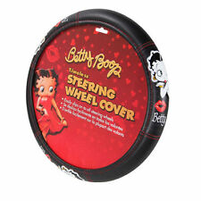 New Betty Boop Timeless Steering Wheel Cover Universal Fit 14.5''-15.5'' Car SUV