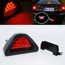 Universal F1 Style 12 LED Red Rear Tail Third Brake Stop Safety Lamp Light i i