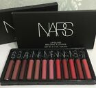 Coffret NARS x12 Rouge À Lèvres Liquide