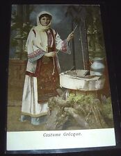 Costume Grecque A.B. Paschas Patras Postcard Unposted