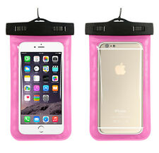 Clear Snow/Waterproof Underwater Dry Pouch Case Bag For Mobile Phone MP3/MP4
