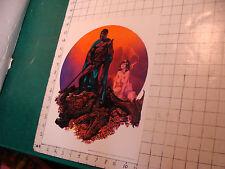 Original  poster: MIDNIGHT BATTLE c. 1974 Rick Corben & Sal Quartuccio