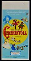 Cartel Cenicienta Walt Disney Cinderella Rank Película 1967 Animación N35