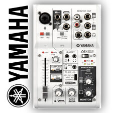 More details for yamaha ag03 multipurpose 3-channel mixer with usb audio interface for mac & pc
