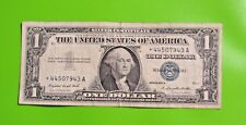 1957-A $1 US Banknote - Silver Certificate * * STAR NOTE * *