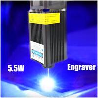 PWM/TTL 450nm 5.5W Focusable Blue Laser Module/TTL/Blue Laser Engraver