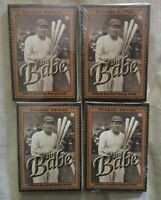 (lot of 4) 1994 PREMIER EDITION THE BABE OFFICIAL BASEBALL STAMP CARD SET NOS