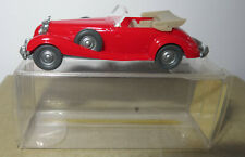 MICRO WIKING HO 1/87 MERCEDES BENZ 540 K ROUGE #13835 in box