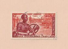 A.E.F. : PA N°60 Afrique Equatoriale Française 1955
