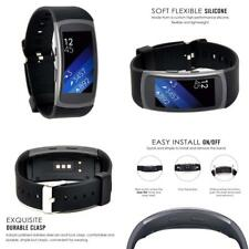 Ersatzarmband Uhrenarmbänder Ersatz-Armband für Samsung Gear Fit 2 / Pro Schwarz