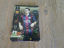 LEO MESSI - FC BARCELONA - CHAMPIONS LEAGUE LIMITED EDITION TRADE CARD **