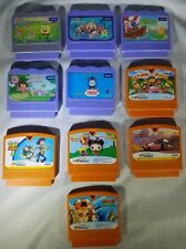 Vtech Vsmile Cartridges, LOT of 10,  Nihao Kai-lan, Toy Story 3, Cars, Dora,