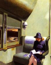Hopper Edward Compertment C Car Canvas 16 x 20   #4695