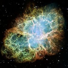 CRAB NEBULA DEEP SPACE POSTER 36x36