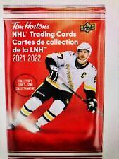 2021-22 TIM HORTONS HOCKEY CARDS 10 SEALED NEW UNOPENED PACKS RELICS? GRETZKY? ?
