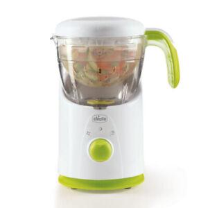 Chicco 4-1 Easy Meal Infant/Baby Food Cooker Slicer Steamer Puree Maker Blender