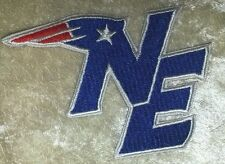 "New England NE Patriots NFL 3.5"" Iron On Embroidered Patch ~USA Seller!"
