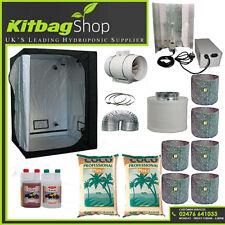 Canna Complete Hydroponic Grow Room Tent Fan Filter Light Kit 600w 120x120x200
