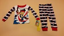 Jake and the Neverland Pirates Long Sleeve Infant Boy Pajamas New 12 Months