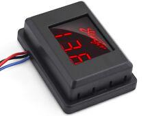 Stinger Digital Red LED 3 Digit Voltage Meter Gauge 12 Volt DC Power System SVMR