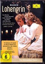 2.DVD WAGNER LOHENGRIN Peter Hofmann Eva Marton Leonie Rysanek JAMES LEVINE 1986