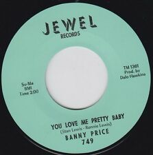 "BANNY PRICE You Love Me Pretty Baby JEWEL 7"" Re. Dynamic 1965 R&B Shaker HEAR"