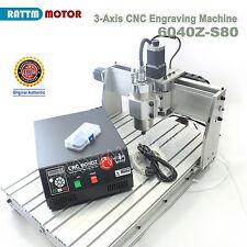 3 Axis Desktop 6040 1500W CNC Router Engraver Engraving Milling/Drilling Machine