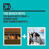 THE BEACH BOYS - 2 FOR 1: THE BEACH BOYS TODAY!/SUMMER DAYS 2 CD NEW
