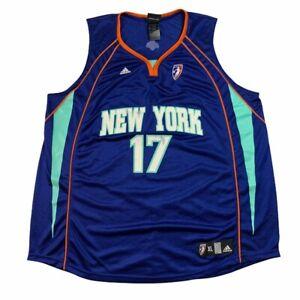 adidas WNBA New York NY Liberty Essence Carson jersey ladies XL