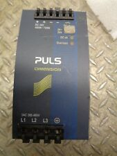 PULS QT20.241 POWER SUPPLY DIN-RAIL FOR 3-PHASE SYSTEMS 24V 20A