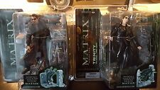 McFARLANE Matrix Series One, Neo & Trinity The Matrix-Lobby Scene Action Figures