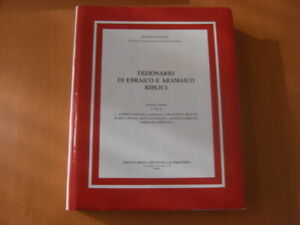 REYMOND DIZIONARIO DI EBRAICO E ARAMAICO BIBLICI EBRAISMO RELIGIONE BIBBIA