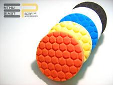 Polierschwamm Politur Wachs Versiegelung Hexagon Polierpad 5 Stück Set 125mm