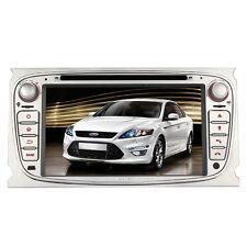 Autoradio DVD GPS Navigation Navi USB RDS AUX Für Ford Mondeo Focus S-Max Galaxy